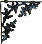 Cast Iron Acorn Shelf Bracket