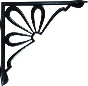 Cast Iron Acorn Shelf Bracket From Antique Revelry