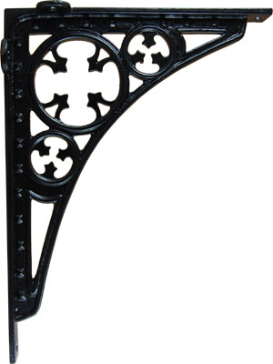 Cast Iron Gothic Trestle Shelf Bracket From Antique Revelry