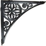 Cast Iron Neoclassical Shelf Bracket