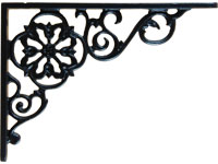 Cast Iron Pennsylvania Dutch Shelf Bracket