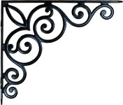 Cast Iron Victorian Scroll Shelf Bracket