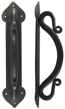 Forged Iron Twisted Door Pull Handle